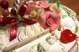富士屋ホテル クリスマス バタークリームケーキ